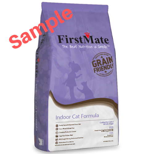 Sample - FirstMate Grain Friendly Indoor Cat Formula