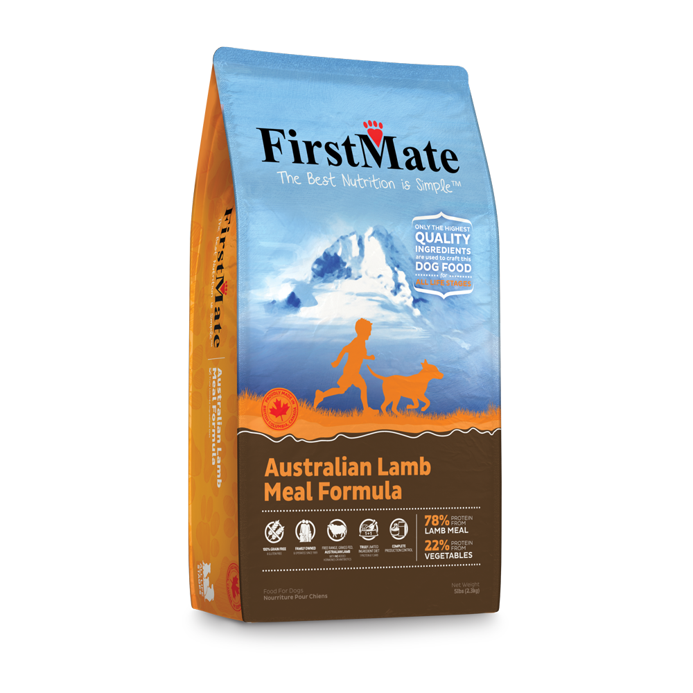 FirstMate Grain & Gluten Free, Australian Lamb (Normal Bites)