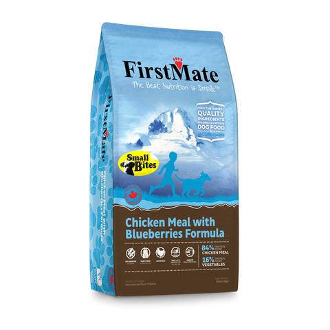 FirstMate Grain & Gluten Free, Chicken with Blueberries (Small Bites)