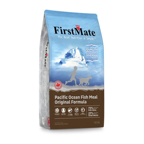 FirstMate Grain & Gluten Free, Pacific Ocean Fish Formula - Original (Normal Bites)