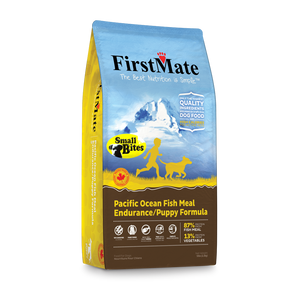 FirstMate Grain & Gluten Free, Pacific Ocean Fish Formula - Puppy/Endurance (Small Bites) 5lbs/2.3kg