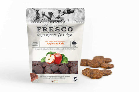 Fresco Superfood Rabbit Hamburger with Apple and Kale (100g)