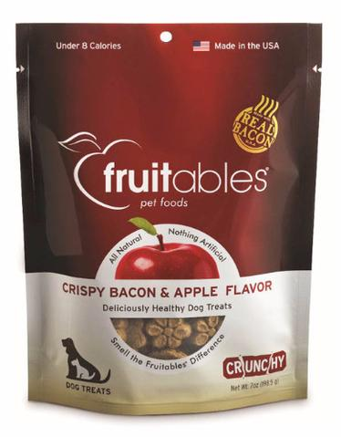 Fruitables Crunchy Bacon & Apple Dog Treats