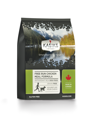 Kasiks Grain, Gluten & Potato Free, Free Run Chicken Formula for Dogs