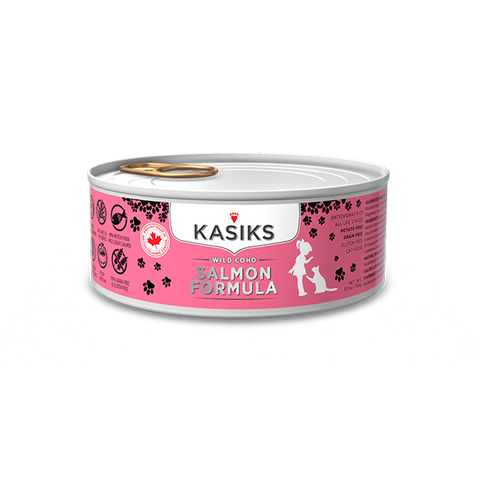 Kasiks Grain, Gluten & Potato Free, Cage Free Turkey Formula Canned Food for Cats (156g)