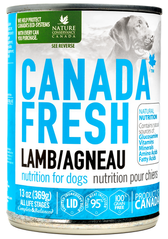 Canada Fresh Lamb Dog Wet Food 13oz/369g