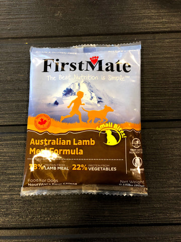 Sample - FirstMate Grain & Gluten Free, Australian Lamb (Small Bites)