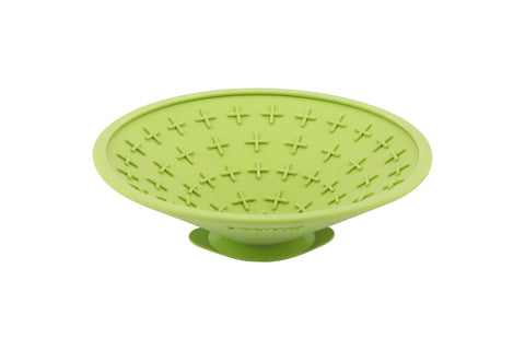 LICKIMAT® SPLASH BOWL (BLUE OR GREEN)