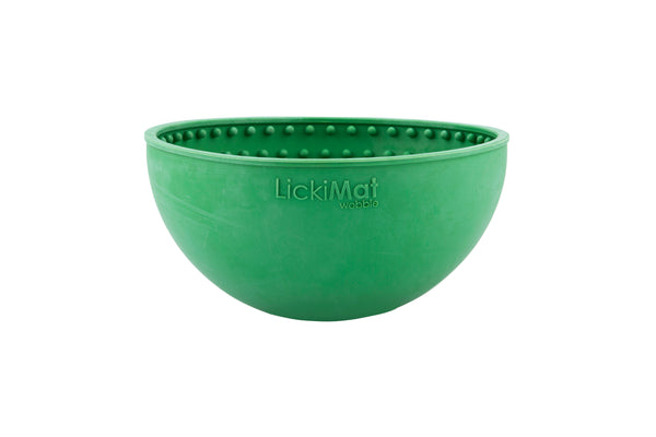 LICKIMAT® WOBBLE BOWL (AVAILABLE IN 4 COLOURS)