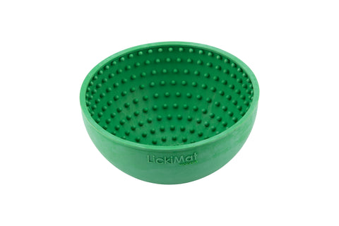 LICKIMAT® WOBBLE BOWL (ORANGE OR GREEN)