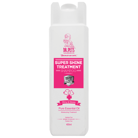 Dr Pets Nanosilver Treatment Shampoo Super Shine - English Rose (400ml/5000ml)