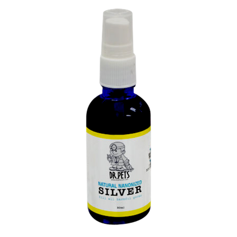 Dr Pets Natural Nanonized Silver - The Ultimate Bacteria Killer (50ml)