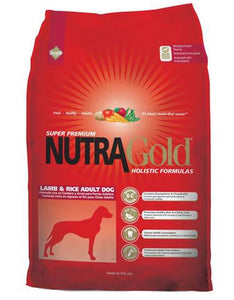 Nutragold Holistic Lamb & Rice Formula for Adult Dogs (2.5kg/15kg)