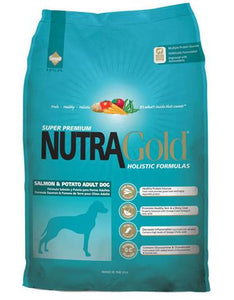 Nutragold Holistic Salmon & Potato Formula for Adult Dogs (2.5kg/15kg)