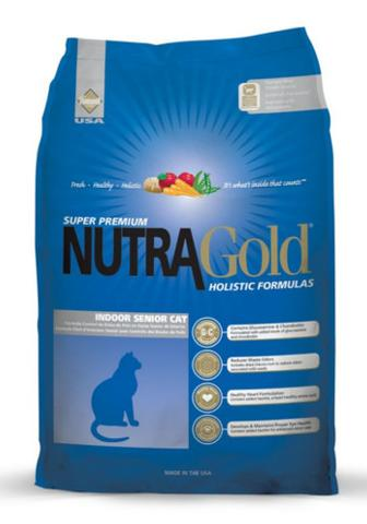 Nutragold Holistic Indoor Senior Cat Formula (3kg)