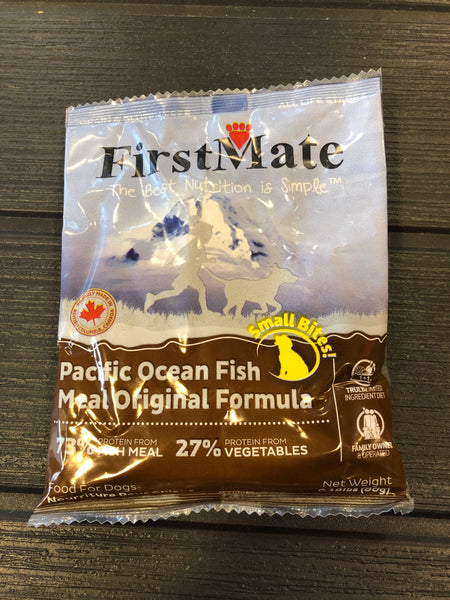 Sample - FirstMate Grain & Gluten Free, Pacific Ocean Fish Formula - Original (Small Bites)