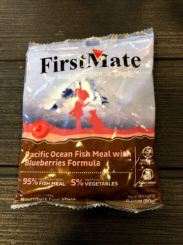 Sample - FirstMate Grain & Gluten Free, Pacific Ocean Fish with Blueberries for Cats
