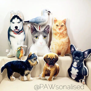 @PAWsonalised Petshape Cushion