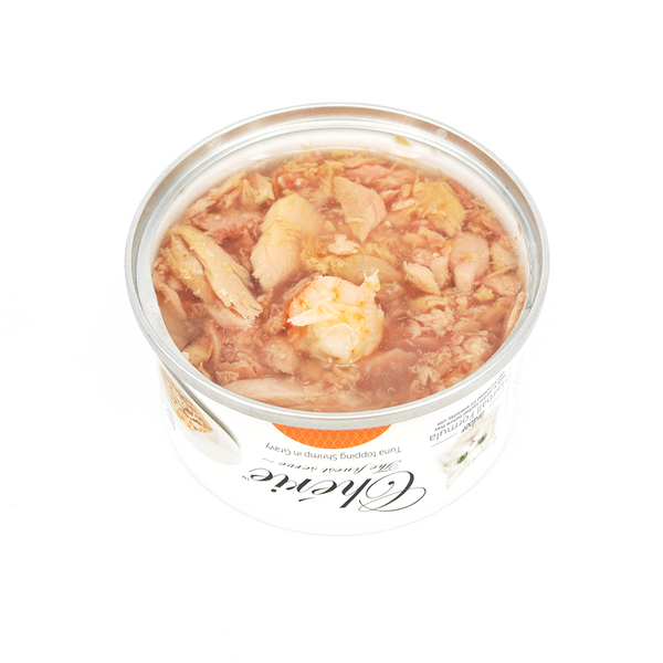 Cherie (Hairball Control) - Tuna Topping Shrimp in Gravy (80g)