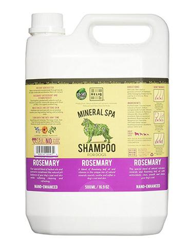 RELIQ Mineral Spa Dog Rosemary Shampoo (500ml / 1 Gal)