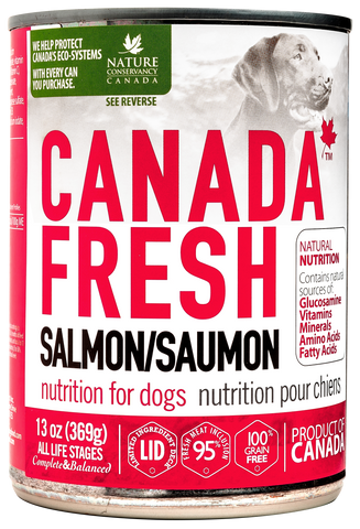 Canada Fresh Salmon Dog Wet Food 13oz/369g