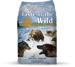 Taste Of The Wild Pacific Stream Smoked Salmon Dry Dog Food (5lbs/28lbs)