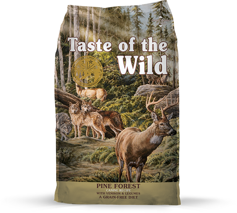 Taste Of The Wild Pine Forest Venison Dry Dog Food (5lbs/28lbs)