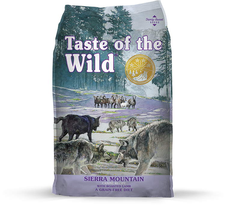 Taste Of The Wild Sierra Mountain Roasted Lamb Dry Dog Food (5lbs/28lbs)
