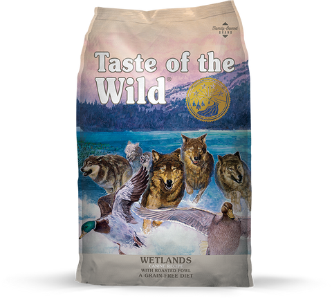 Taste Of The Wild Wet Lands Roasted Fowl Dry Dog Food (5lbs/28lbs)