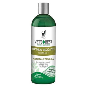 Vet's Best Oatmeal Medicated Shampoo (Spa Range) (470ml)