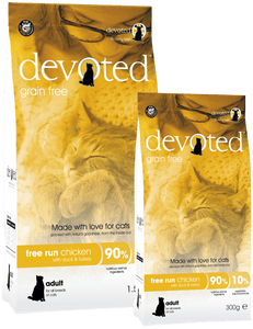 Devoted Free Run Chicken for Cats (300g/1.5kg)