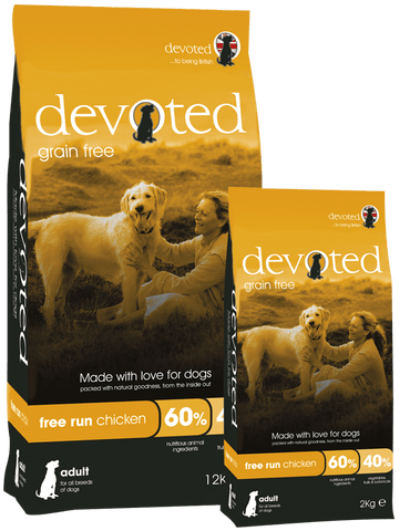 Devoted Free Run Chicken for Dogs (2kg/12kg)