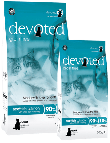 Devoted Scottish Salmon for Cats (300g/1.5kg)