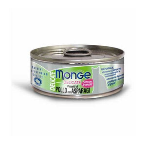 Monge Delicate Chicken with Asparagus Cat Food (80g)