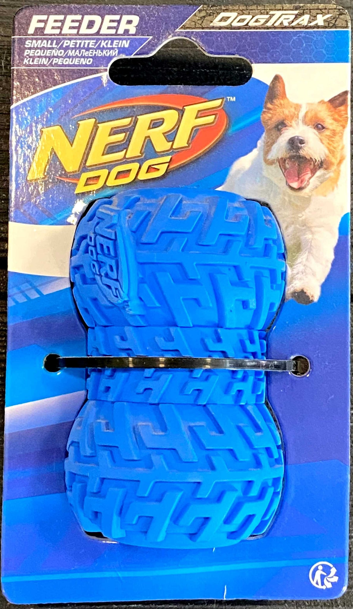 Nerf Dog DogTrax Tire Feeder Dog Toy (S)