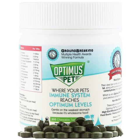 Optimus Pet Revolutionary Tablet Pet Supplement