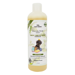 For Furry Friends Flea & Tick Series Liquid Soap - Peppermint (Itch Relief) 515ml