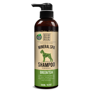 RELIQ Mineral Spa Dog Green Tea Shampoo (500ml / 1 Gal)