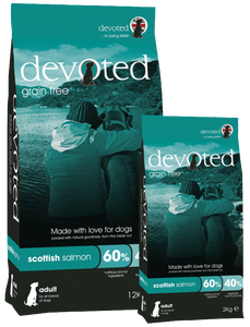 Devoted Scottish Salmon for Dogs (2kg/12kg)