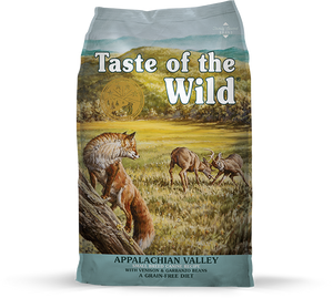 Taste Of The Wild  Appalachian Valley Venison & Garbanzo Beans Small Breed Canine Dry Food for Dogs (5lbs/28lbs)
