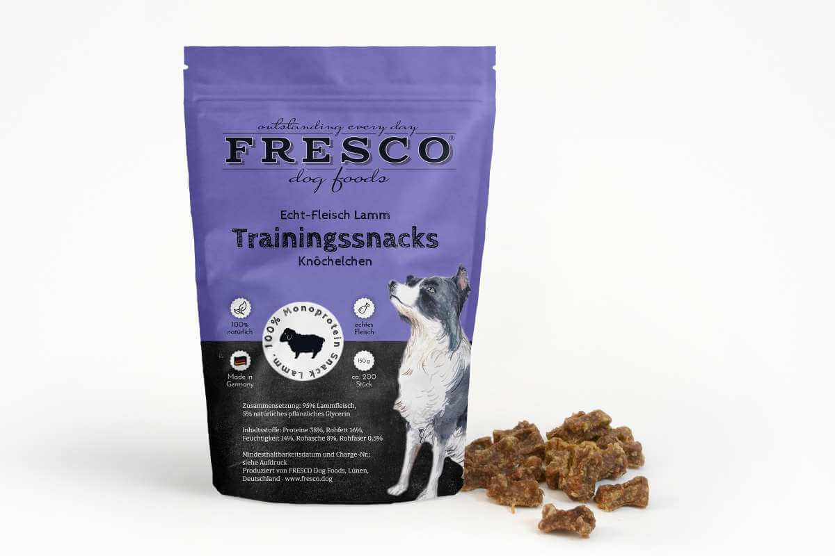 Fresco Training Mini Bones - Lamb (150g)