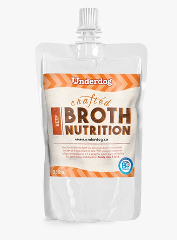 Underdog Crafted Beef Broth (380ml)