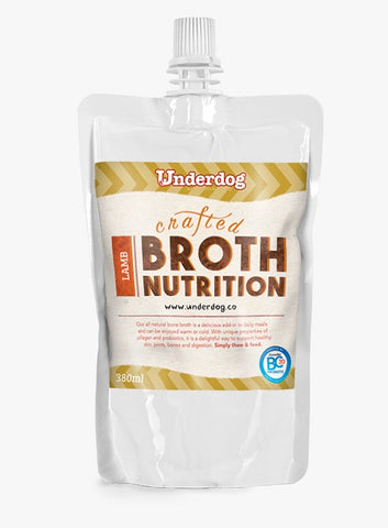 Underdog Crafted Lamb Broth (380ml)