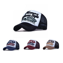 Load image into Gallery viewer, Women Embroidered Flower Denim Cap Fashion Baseball Cap Topee