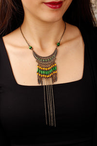 Women's Authentic Design Beaded Necklace