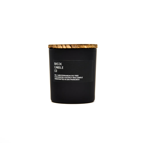 No. 5 Mediterranean Fig Tree 6 oz candle