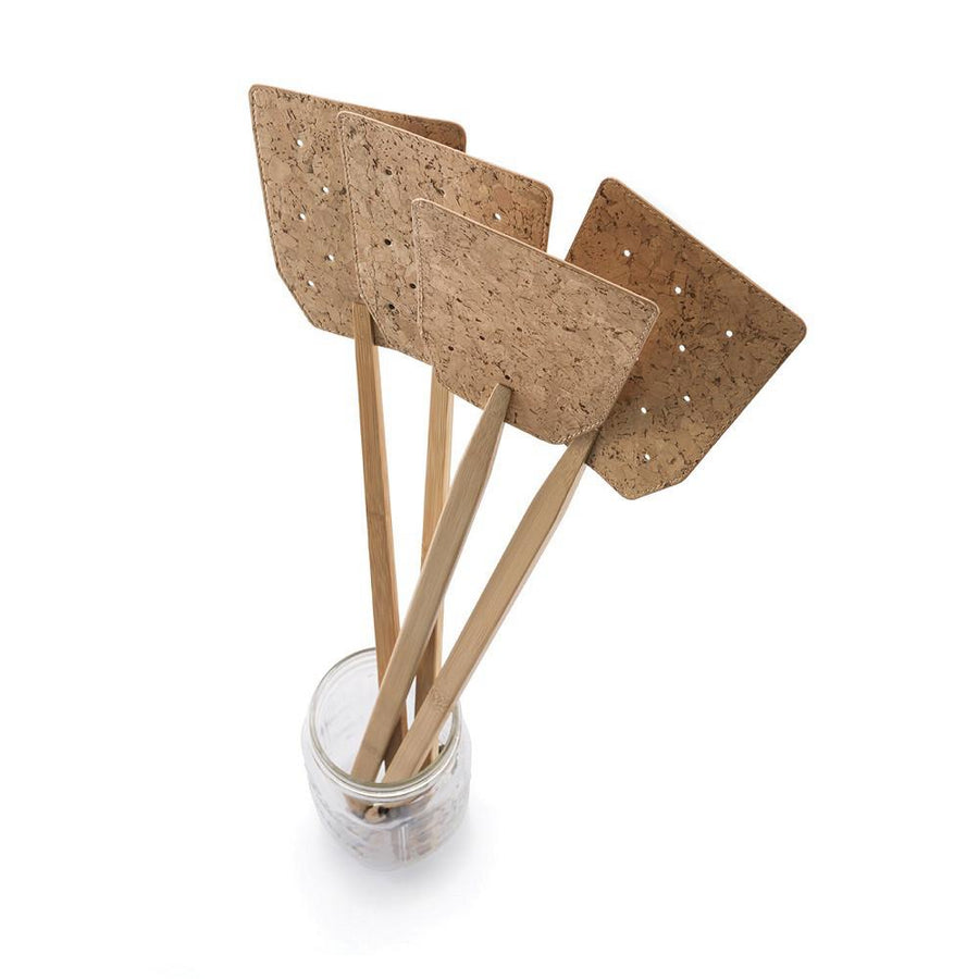 Bamboo + Cork Fly Swatter
