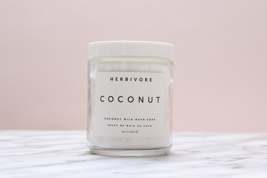 Coconut Milk Bath Soak