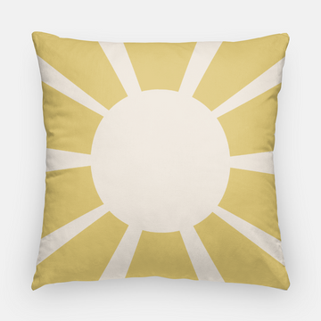 Muse California Sunray Pillow - Mustard