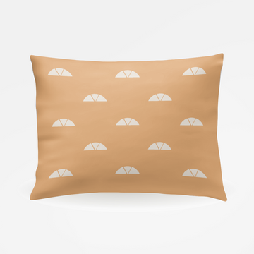 Muse California Clay Pillowcase - Pair of Two